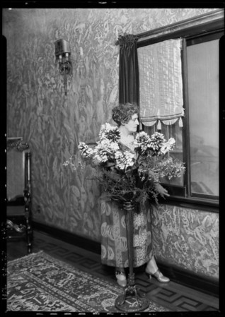 Marigold Apartments, 1st Street & New Hampshire Avenue, Los Angeles, CA, 1925