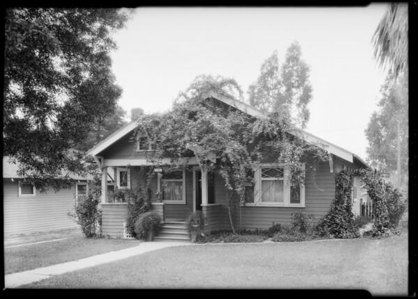 1231 Drysdale, Southern California, 1925