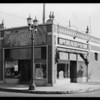 Exterior of La Pla radio store, Southern California, 1930