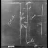 Blackboard, Ruffner vs. Thournbough, Southern California, 1931