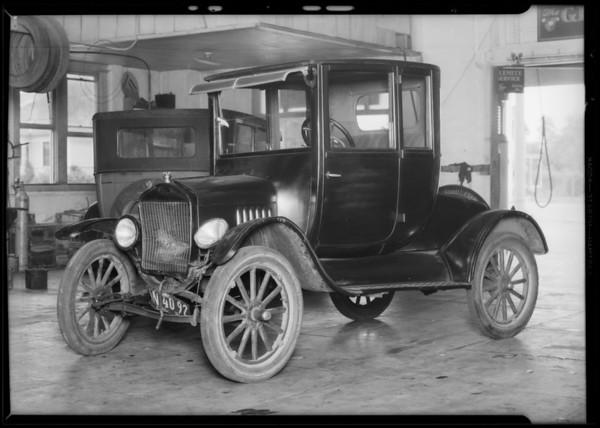 Chrysler and Ford, Monrovia, CA, 1931