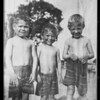 Copies of kid pictures, Southern California, 1925