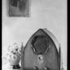 New radio, table model of Falck radio, Southern California, 1930