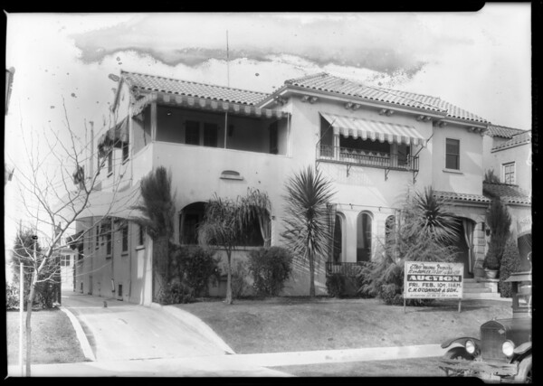 Duplex - 223 South Orange Drive, Los Angeles, CA, 1928