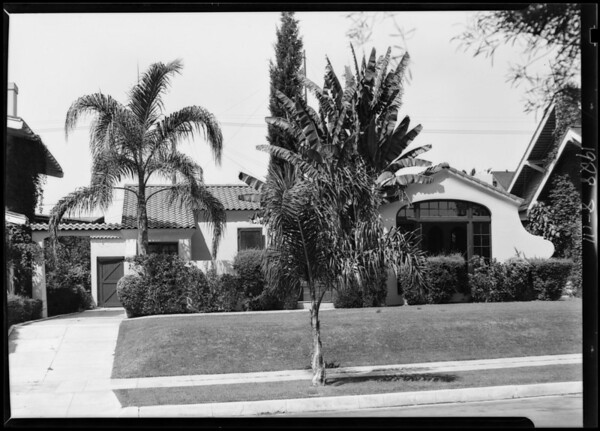 1045 South St. Andrews Place, Los Angeles, CA, 1928