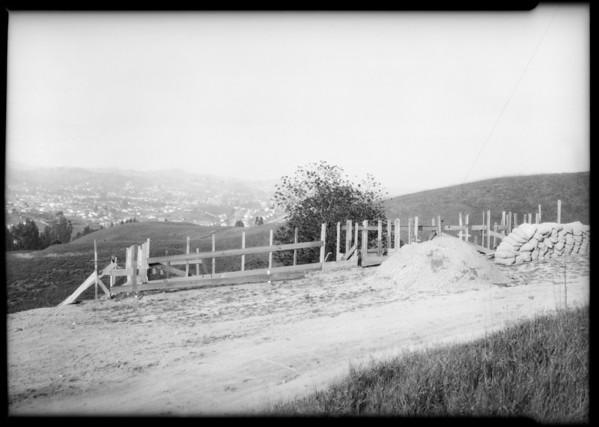 Progress of Highland Villa Park houses, Southern California, 1925