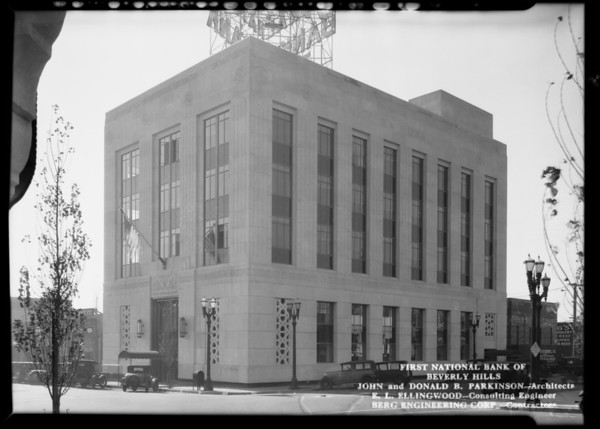 First National Bank of Beverly Hills, Beverly Hills, CA, 1930