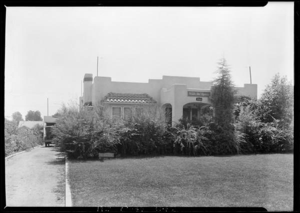 1844 East Orange Grove Boulevard, Pasadena, CA, 1925