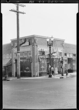 Dutch Ice Cream store, Alhambra, CA, 1928