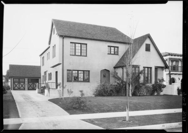 313 South Speedway, Beverly Hills, CA, 1928