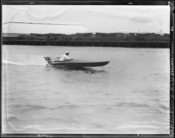 """""""Lido Baby"""" at Long Beach, CA, 1928"""