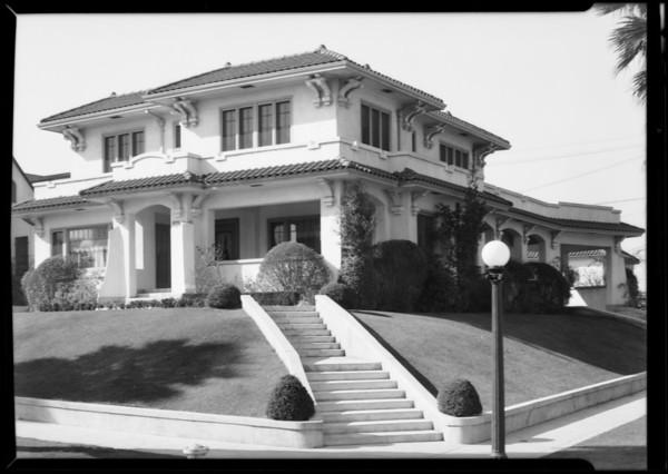 151 North Berendo Street, Los Angeles, CA, 1930