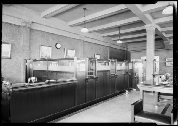West 6th Street and South Vermont Avenue, Pacific-Southwest Bank, Los Angeles, CA, 1925