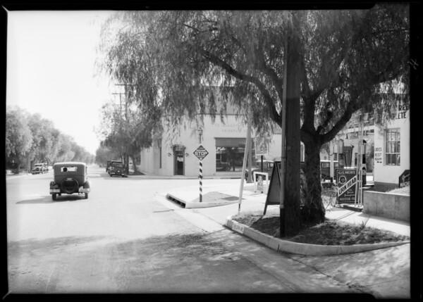 Northwest corner of East Green Street and South Wilson Avenue, Pasadena, CA, 1931