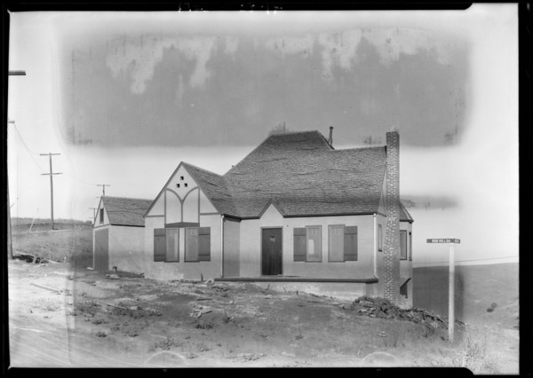 House at Highland Park Villa, Los Angeles, CA, 1925