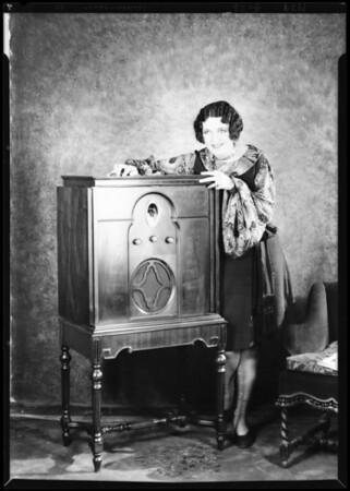 Leone Lane - Paramount Star at Paramount Studio, Southern California, 1929