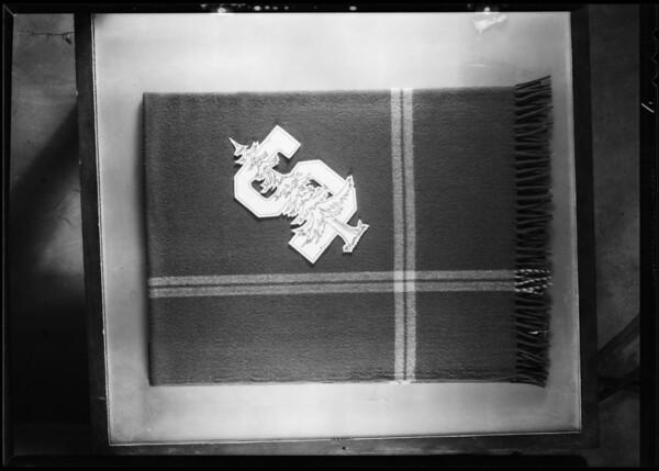 Auto robe, Southern California, 1931