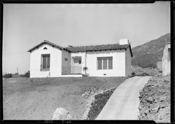 1105 Attica Street, Southern California, 1925