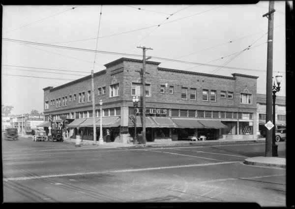 Northwest Corner of Melrose & Western, Los Angeles, CA, 1925