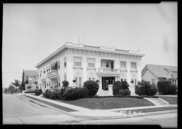897 South Norton Avenue, Los Angeles, CA, 1925