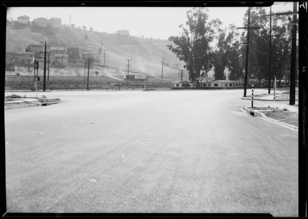 Intersection, Alhambra Avenue & East Valley Boulevard, Los Angeles, CA, 1931
