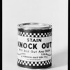 Can of Stain Knock Out, Southern California, 1931