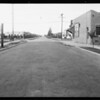 West 65th Street and South Normandie Avenue, Los Angeles, CA, 1931