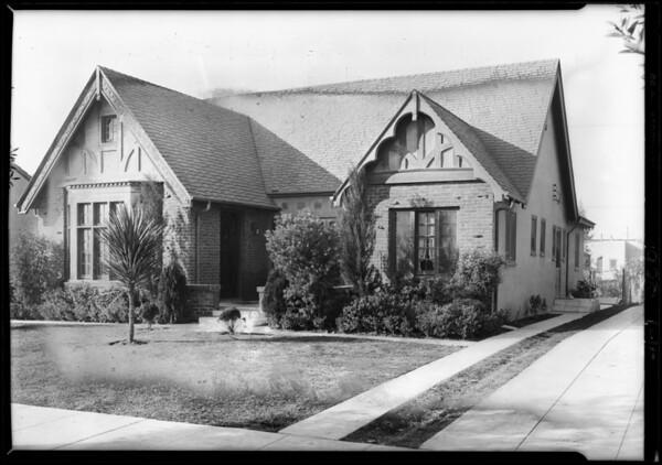 415 North Edinburgh Avenue, Los Angeles, CA, 1928