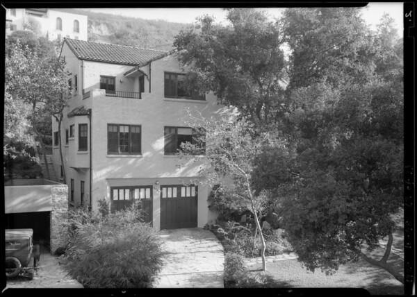 Home at 3004 North Beachwood Drive, Los Angeles, CA, 1928