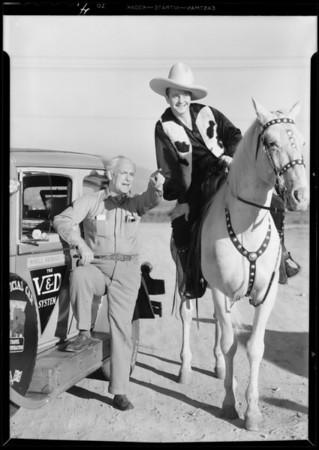 Van Durke travel car, Shell Oil Co., Southern California, 1931