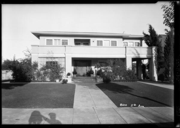 800 5th Avenue, Los Angeles, CA, 1925