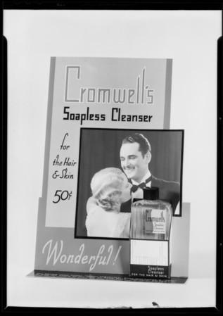 Counter display, Southern California, 1931