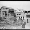 Houses on hillsides - 2595, Southern California, 1924