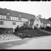 Exterior of houses at Bel Air, Los Angeles, CA, 1931