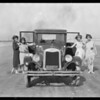 Chevrolet car at Terminal Island, Los Angeles, CA, 1925