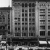 A facade of the Forrester Building and the Broadway Palace Building which house the Innes Shoe Company and Dr. Beauchamp Dentist Office