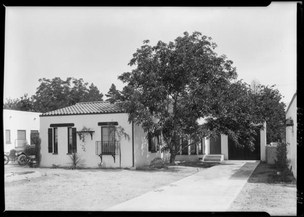 10834 Landale Street, Lankershim, Los Angeles, CA, 1925