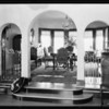 Interiors of Lindeguist home, 4937 Angeles Vista Boulevard, Los Angeles, CA, 1929