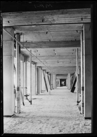 County Hospital work, Mark Pump Co., Los Angeles, CA, 1931