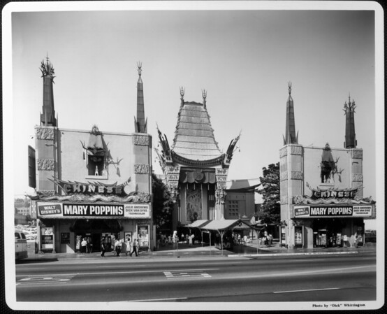 Grauman's Chinese Theater, which is playing Mary Poppins