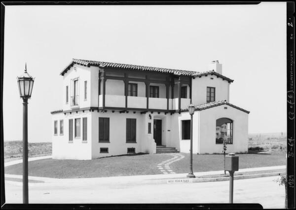 Houses for Allrines and Cullursan, Southern California, 1929