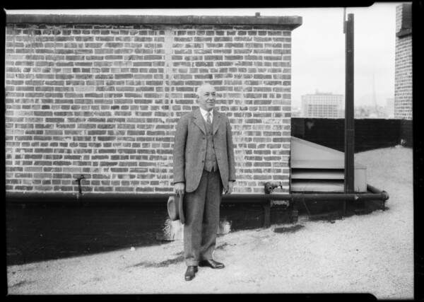 Extra man to be added to group, Southern California, 1925