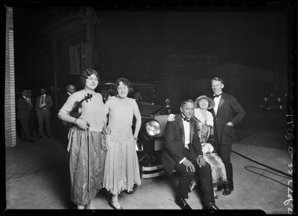 Flashlights of Carlos Sebastian Elcar Opening, 5336 Sunset Boulevard, Los Angeles, CA, 1925