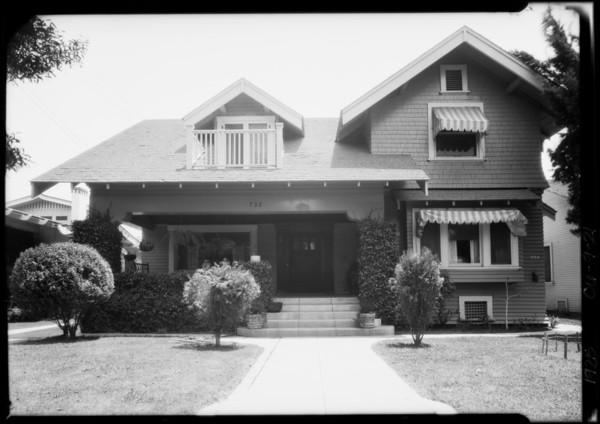 732 South Wilton Place, Los Angeles, CA, 1925