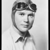Portrait of Lieutenant Tomlinson, Maddux Air Lines, Southern California, 1930