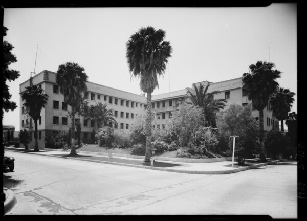 Ancelle Apartments, 701 South Gramercy Place, Los Angeles, CA, 1929