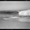 Waves - Breakers, Southern California, 1929