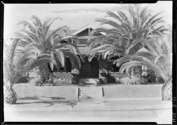 House at 647 North Kenmore Avenue, Los Angeles, CA, 1928
