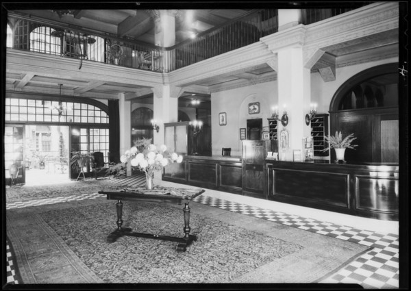 Hotel Belmont, Southern California, 1931