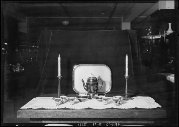 Tableware, Broadway Department Store, Los Angeles, CA, 1925